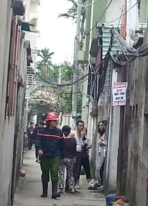 Vụ cháy khiến khu dân cư náo loạn
