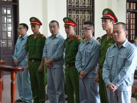 Nhóm đối tượng người Trung Quốc tại nước ngoài tại phiên tòa sáng nay