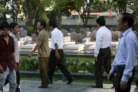 Hình ảnh Bác Hồ và Đại tướng Võ Nguyên Giáp hiện diện khắp nơi ở Điện Biên Phủ