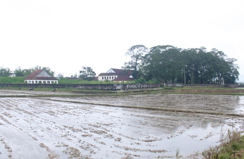 Toàn cảnh Chủng viện Làng Sông