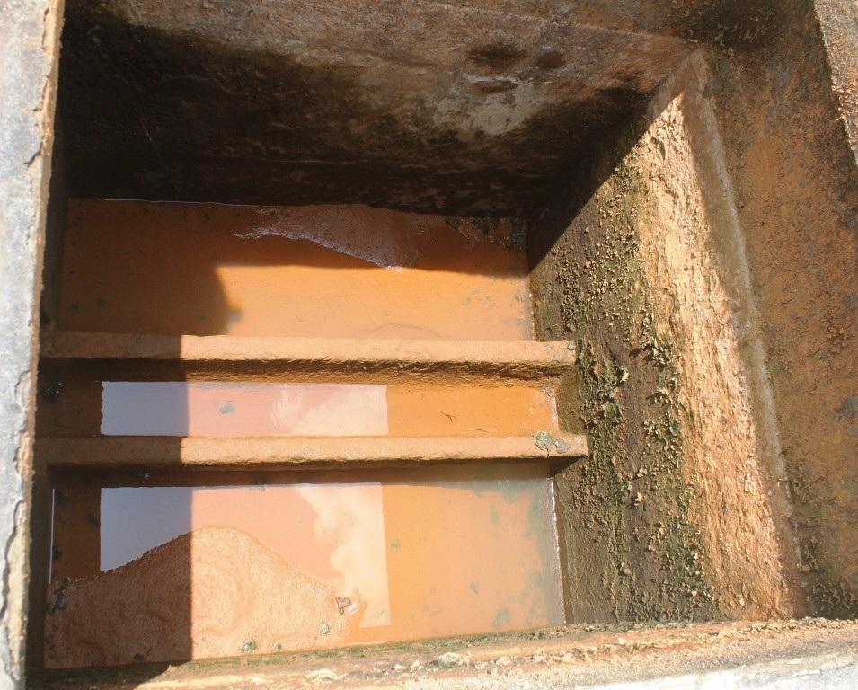 Dây chuyền lọc nước sông chỉ bằng lớp cát của Nhà máy nước Mỹ Chánh.