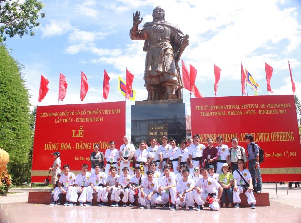 Bảo tàng Quang Trung (huyện Tây Sơn) một điểm du lịch hấp dẫn du khách