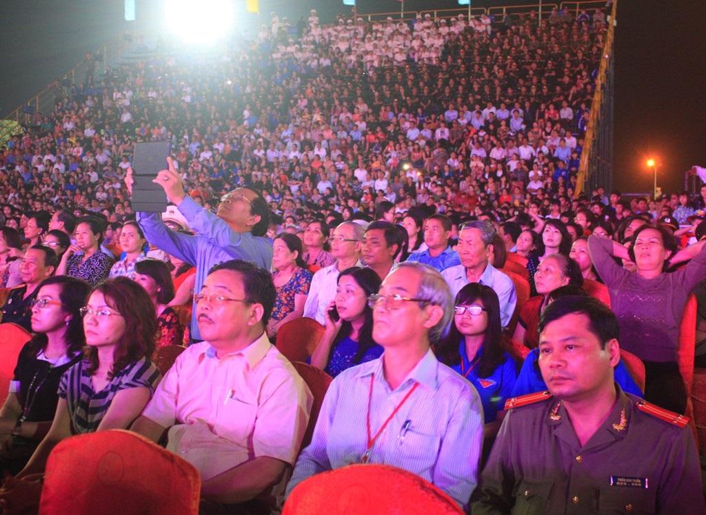 Lễ kỷ niệm thu hút trên 20 ngàn người dân Quy Nhơn - Bình Định về dự