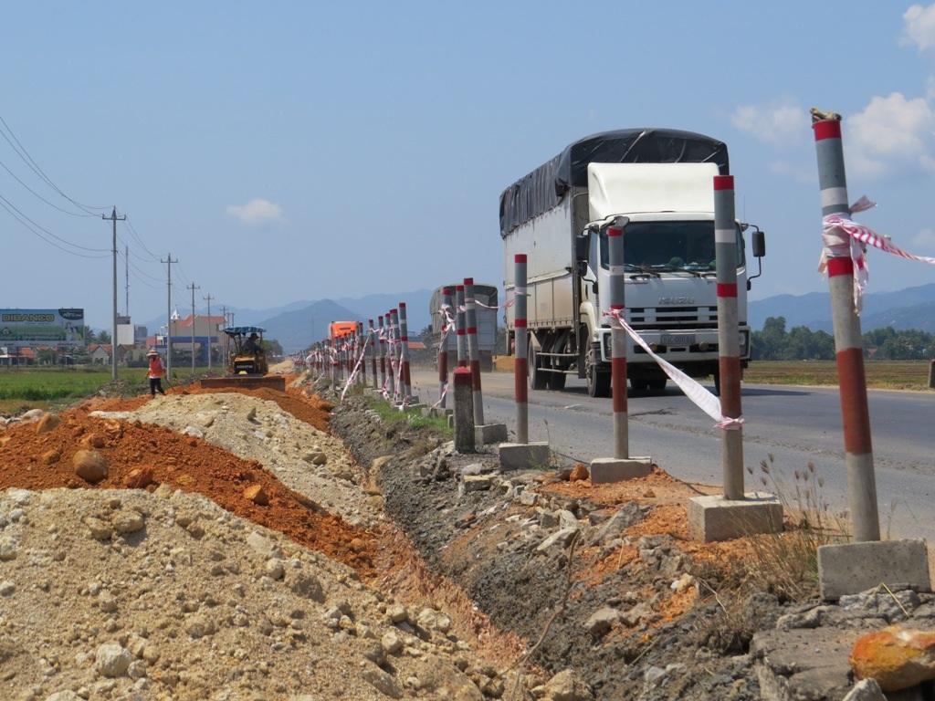 Phú Yên là một trong những tỉnh có tiến độ thị công chậm nhất so với cả nước