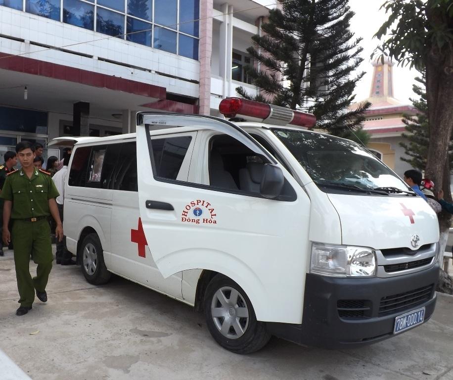 Ông Chim được đi bệnh viện cấp cứu nhưng đã tử vong trước đó