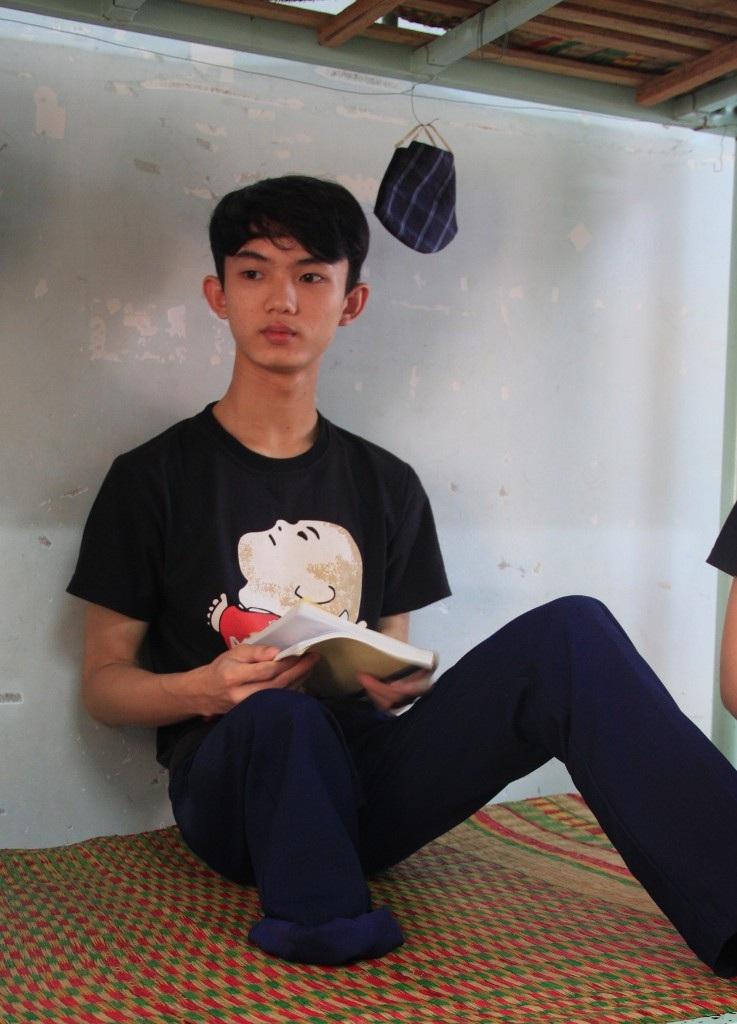 Thí sinh Trần Minh Nhật ước mơ đơn giản làm một thợ công nghệ thông tin giỏi.