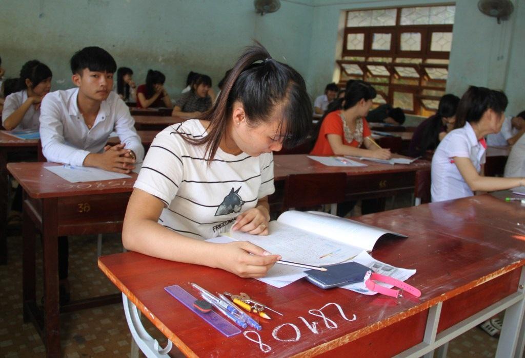 Một số điểm thi số lượng thí sinh dự thi môn Địa rất ít