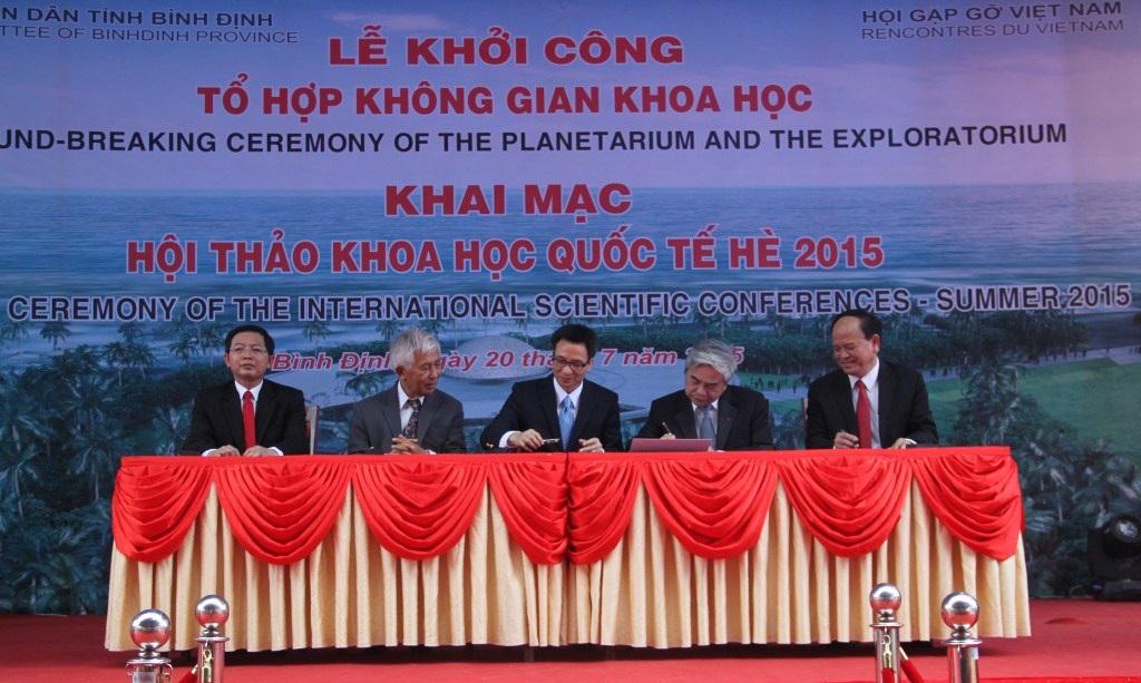 Lễ khởi công Tổ hợp Không gian khoa học hàng đầu Việt Nam