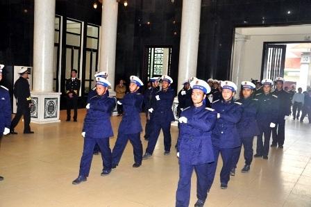 Tiến hành lễ truy điệu 5 chiến sĩ
