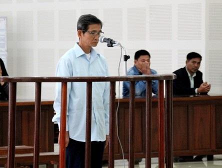 Bị cáo Lành tại phiên toàn ngày 19/12