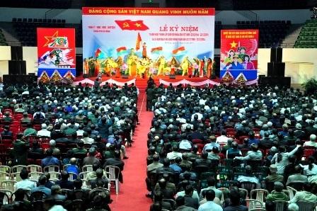 Hơn 3.600 sĩ quan quân đội cấp tá đã nghỉ hưu trên địa bàn TP Đà Nẵng tham dự lễ kỷ niệm