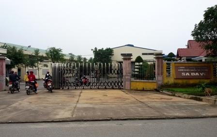 Trụ sở Cty Sadavi tại KCN Hòa Cầm