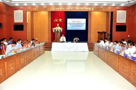 Tỉnh Quảng Nam họp báo lễ kỷ niệm 40 năm ngày giải phóng tỉnh nhà