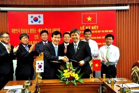 Hàn Quốc giúp Quảng Nam đưa Sâm Ngọc Linh ra thế giới