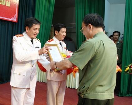 Đại tá Lê Văn Tam được bổ nhiệm giữ chức Giám đốc Công an TP Đà Nẵng