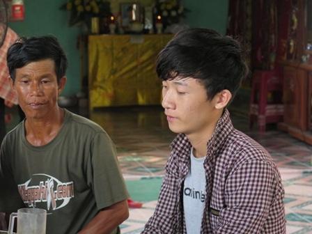Anh Võ Hiền Sơn kể lại sự việc với PV