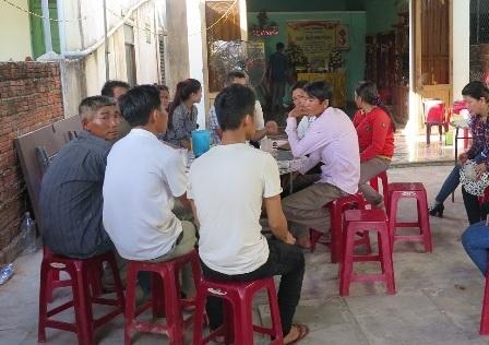 Gia đình tổ chức mai táng Trần Minh Vương