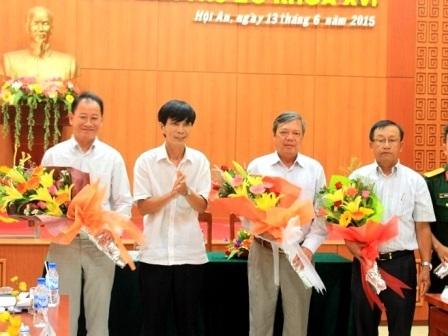 Ông Nguyễn Sự phát biểu trước khi từ nhiệm