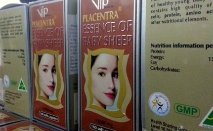 Sản phẩm thực phẩm chức năng bị cơ quan chức năng TP Hà Nội bắt giữ ngày 8/6 (Ảnh: T.N)