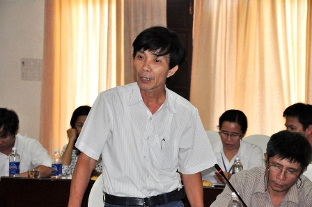Ông Nguyễn Sự - Bí thư Thành ủy Hội An