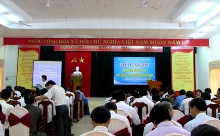 Tỉnh Quảng Nam tổ chức hội nghị quán triệt công tác thi THPT quốc gia 2015 ngày 25/6