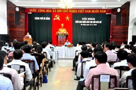 Hội nghị tinh giản biên chế của TP Đà Nẵng được tổ chức sáng 23/7