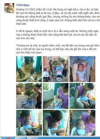 """Cộng đồng mạng xúc động vì """"bé 2 lần bị mẹ bỏ rơi"""" sắp có gia đình mới"""