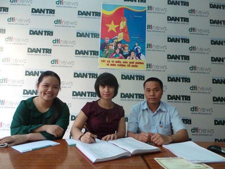 Cháu Bùi Minh Quang ủng hộ 2 triệu đồng từ việc tiết kiệm lợn đất để Tiếp sức ngư dân bám biển