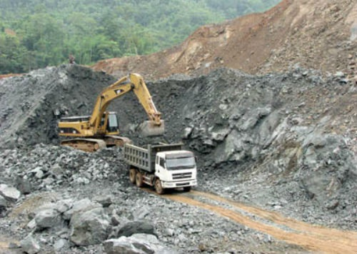 Một dự án khai thác quặng tại Lào của bầu Đức.