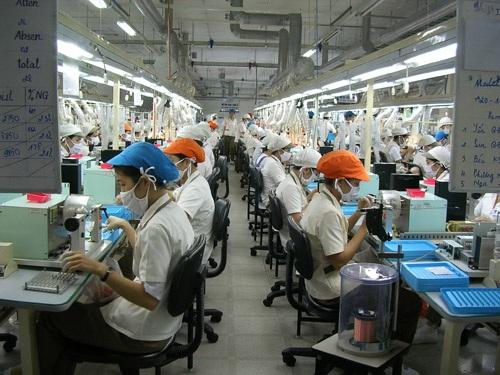 Lao động của Công ty Nidec Copal (KCX Tân Thuận - TPHCM)