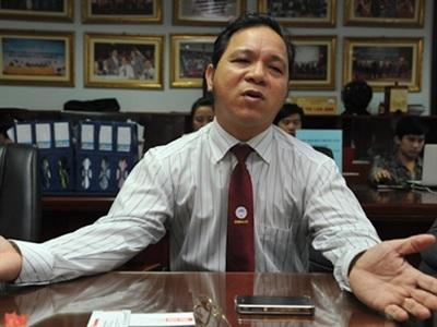 Ông Nguyễn Hữu Cường, Chủ tịch CLB BĐS Hà Nội.