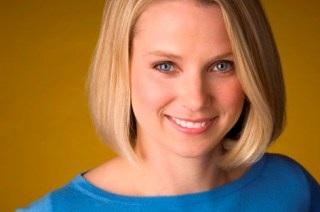 Marissa Mayer, CEO trẻ tuổi của Yahoo.