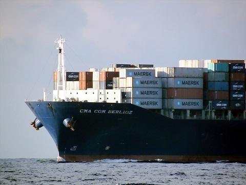 Tàu container CMA CGM Berlioz của hãng CMA CGM (Pháp) .