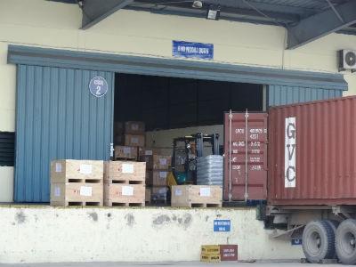 Kho ngoại quan Khu Công nghiệp Bắc Thăng Long thuộc Cục Hải quan Hà Nội quản lý