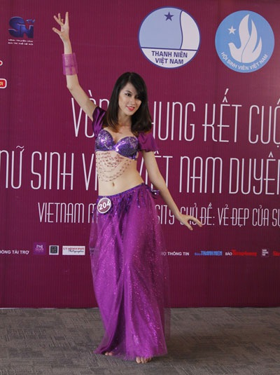 Múa dân gian và múa đương đại là sự lựa chọn của nhiều thí sinh.