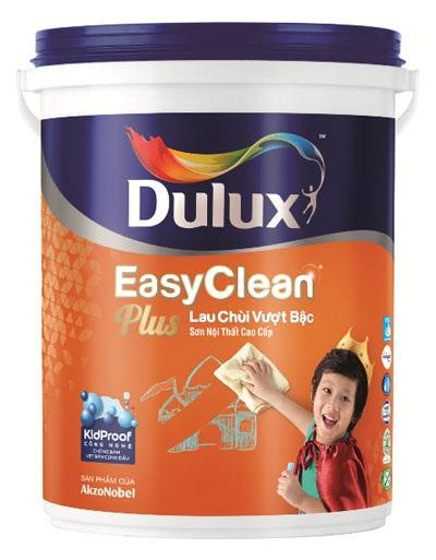 """""""Xí xóa thật dễ dàng"""" với Dulux EasyClean Plus lau chùi vượt bậc"""