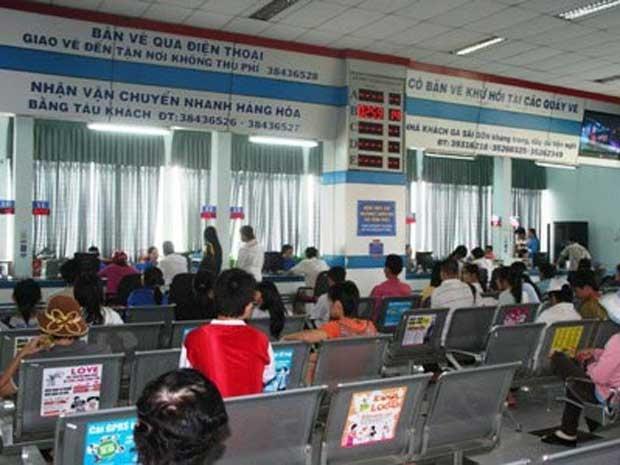 Năm nay, lượng vé bán ra từ ga Sài Gòn còn tồn khá nhiều (ảnh minh họa).
