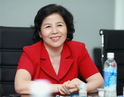Bà Mai Kiều Liên - Tổng giám đốc Công ty Cổ phần Sữa Việt Nam.