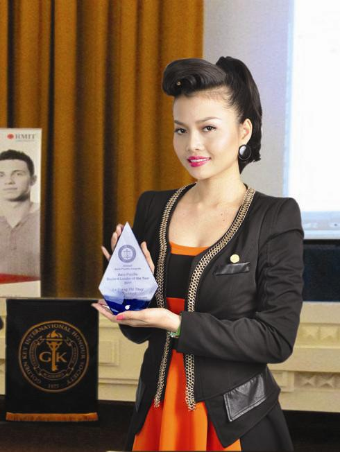 Lê Thị Thùy Trang - Nhà lãnh đạo Châu Á - Thái Bình Dương xuất sắc nhất của năm.