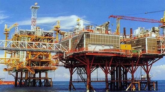 Gian dầu khí (ảnh: theo PVN)