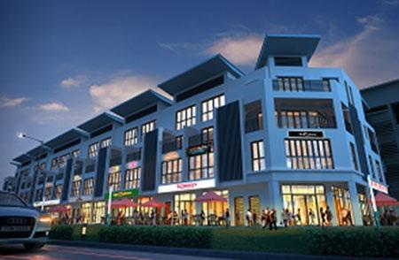 Dãy nhà phố thương mại mang đến những tiện ích tối ưu cho cuộc sống trọn vẹn tại khu đô thị