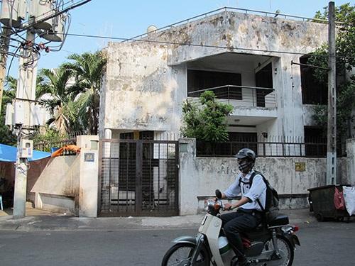 Biệt thự ở số 22, Hoàng Dư Khương, phường 12, quận 10, TP HCM của bầu Kiên Ảnh: Phạm Dũng