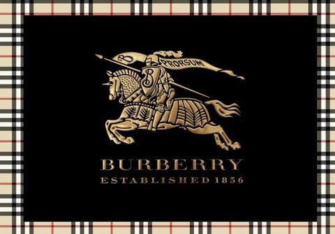Logo Burberry là hình một hiệp sĩ dũng mãnh mặc áo giáp