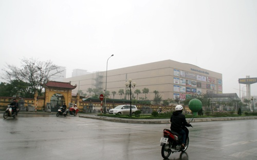 Nghĩa trang ngay trung tâm hành chính mới của Hà Đông, gần siêu thị và nhiều tòa nhà chung cư