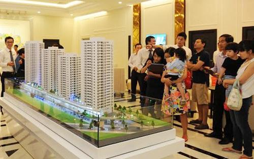Nhiều dự án căn hộ đắt khách