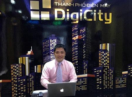 Ông Trần Xuân Thắng, Tổng Giám đốc DigiCity luôn tràn đầy năng lượng
