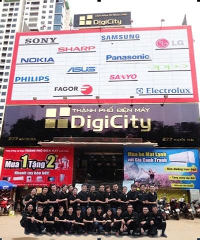 Đội ngũ nhân viên DigiCity luôn tận tâm, trung thực và trách nhiệm