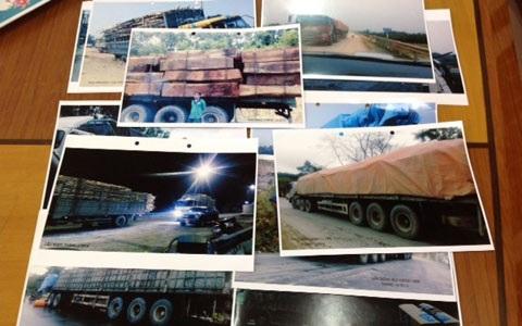 Hình ảnh xe quá tải, một trong những nguyên nhân tàn phá dự án gần 700 tỷ, khi chưa bàn giao.