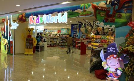 Khai trương thiên đường mua sắm Kid World Đồng Khởi
