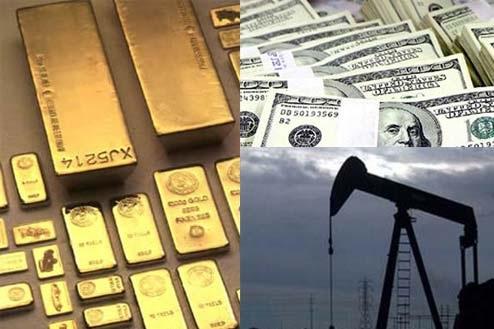Nhà đầu tư bán tháo, giá vàng xuống đáy 10 tuần